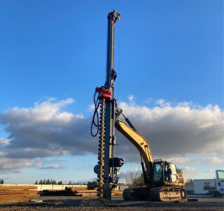 MOVAX MPL-400 for CFA piling in Poland