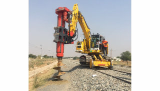 Rail success in India