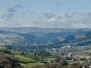 MAJOR FLOOD ALLEVIATION SCHEME AT MYTHOLMROYD, ENGLAND